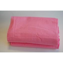 Ręczniki plecionka różowa
