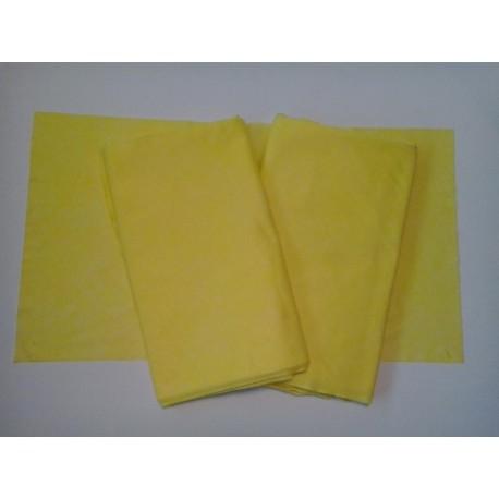 Ręczniki gładkie żółte