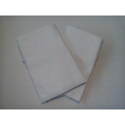 Ręczniki gładkie białe