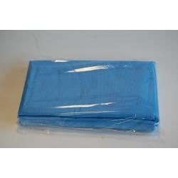 Ręczniki kratka niebieska