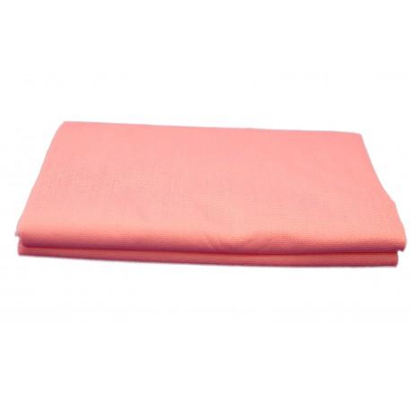 Ręczniki kratka różowa